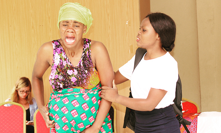 Theatre of the oppressed training